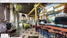 You can now virtually walk around in Yosh #restaurant #gambia #GoogleMaps
