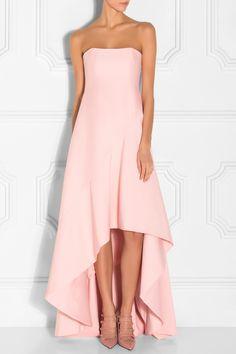 Halston Heritage's Strapless Silk Faille Gown