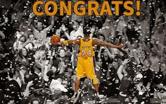 Five NBA Championships, 11 All-NBA First Team selections, 2 NBA Finals MVP awards, an NBA MVP award and 4 NBA All-Star MVPs later, he has put together an amazing and unimaginable career. Kobe has not only dominated on offense, but he has been a relentless defender throughout his career landing 9 NBA All Defensive First Team selections.