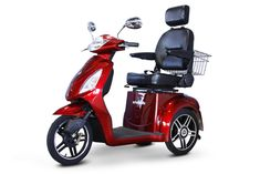 EWheels - EW-36 Elite - Electric 3 Wheel Bike / Trike