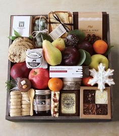 Gourmet Gift Crates from Winston Flowers: An Ultra Luxurious Last Minute Gift - Pursuitist Corporate Gift Baskets, Corporate Gifts, Christmas Gift Baskets, Christmas Diy, Christmas Presents, Winston Flowers, Personalised Gifts Diy, Gift Crates, Wooden Crates