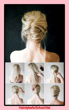 How to make a hairstyle at the graduation house?  #graduation #hairstyle #house
