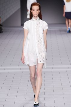 Viktor & Rolf Spring 2014 RTW there seems to be a lot of #white going down the runway this season
