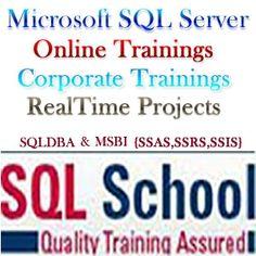MSBI (SSIS, SSAS, SSRS) ONLINE TRAINING @ SQL SCHOOL