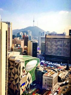 Centro de Seoul.