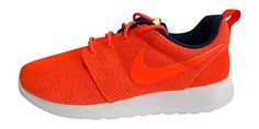 Nike womens Roshe One Moire trainers 819961 Sneakers Shoes US 105 bright crimson white 661 ** Be sure to check out this awesome product.