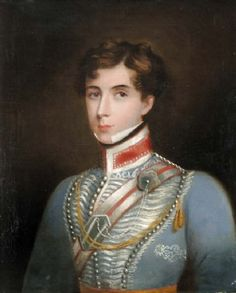 Portrait of a Cornet in the Bengal Light Cavalry circa 1830's