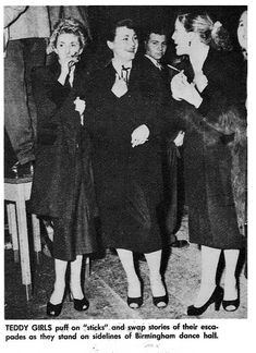 Reminds me of the Downtown Dolls (http://downtowndolls.blogspot.com)  #style #teddygirls