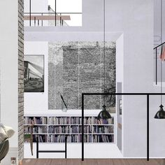 'Layered Wall' Interior | Mads Bjørn Christiansen | AA School of Architecture 2015