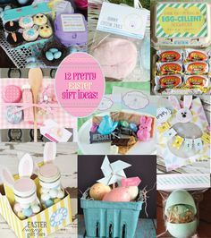 Easter gift ideas a spoonful of sugar gift ideas pinterest 12 easter gift ideas with fun packaging from perpetually daydreaming negle Choice Image