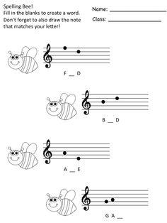 Music a la Abbott: Spelling Bee