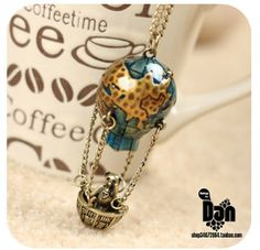 Little Bear Traveling Around The World Necklace. Starting at $5 on Tophatter.com!