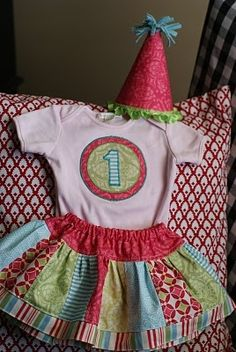 Art 1st birthday outfit to-do