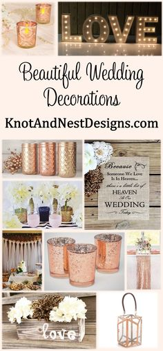 Cheap decorations and other wedding essentials website