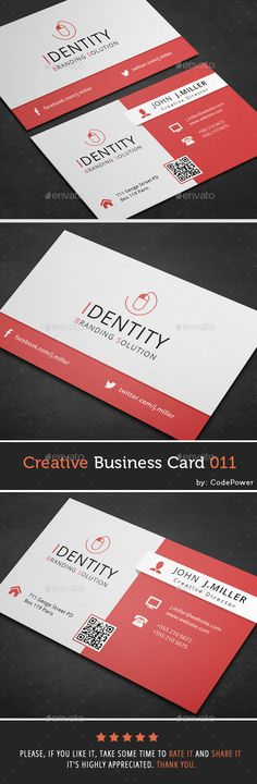 Creative Business Card Template PSD | Buy and Download: http://graphicriver.net/item/creative-business-card-011/9854224?ref=ksioks