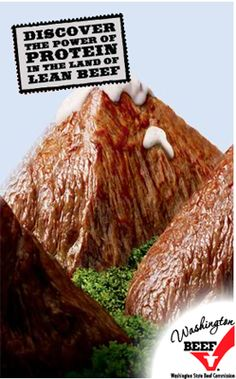 Lean Beef Campaign Food Advertising, Advertising Design, Meat Art, Food Banner, Ads Creative, Culinary Arts, Brand Packaging, Print Ads, Food Styling