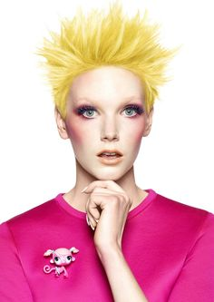 Large image of Medium Yellow straight hairstyles provided by Kobi Bokshish. Picture Number 23864