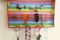 Organizador de joyas DIY