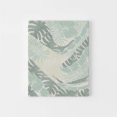 Jungle Botanicals Art Modern Tropical Print Neutral Green and Cream Palm Leaf Plant Wall Art Print or Canvas Jungle Illustration, Hand Illustration, Illustrations, Beach Chic Decor, Modern Tropical, Plant Wall, White Art, Wall Art Prints, Vibrant Colors