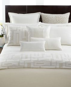 Hotel Collection Bedding, Fjord King Duvet Cover - Bedding Collections - Bed & Bath - Macy's