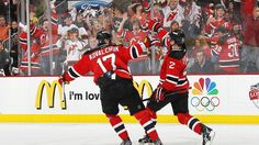 The #Devils upset the #Rangers in Game 5, taking a 3-2 series lead heading back to New Jersey