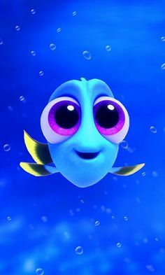 "So cute baby Dory from ""Finding Dory"" Disney Phone Wallpaper, Wallpaper Iphone Cute, Trendy Wallpaper, Wallpaper Ideas, Hd Wallpaper, Wallpaper Samsung, Nemo Movie, Cute Disney Drawings, Disney Background"