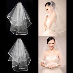 New 2T white or ivory wedding bridal with Veil Satin Edge comb Elbow (white) http://www.amazon.co.uk/white-ivory-wedding-bridal-Satin/dp/B00MIMPZLC/ref=sr_1_46?m=A21YYROF1B22BV&s=merchant-items&ie=UTF8&qid=1428646282&sr=1-46