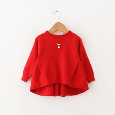 Little Red Sweater Sweater Shop, Cozy Sweaters, Little Red, Warm And Cozy, Bell Sleeve Top, Casual, Pattern, Cotton, Shopping