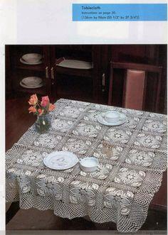 Crochet: Lace delicate pineapple