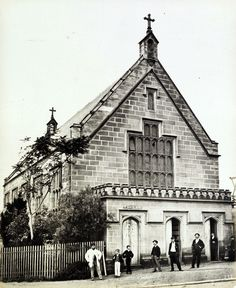 St Mary's Roman Catholic School 1872 | Sydney Originally commissioned as a church by Archbishop Polding between 1843 and 1845. Architect AWN Pugin.