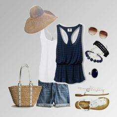 Cute Summer capri Outfits | Found on pinspire.com