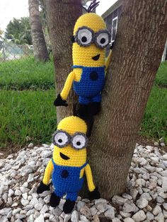 Crochet Minion on Etsy, $20.00