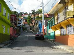 Streets of Yauco's Town ~ Yauco, Puerto Rico