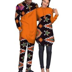 African Prints Clothing for Couples and Family African Wear Styles For Men, African Shirts For Men, African Dresses For Kids, African Clothing For Men, Nigerian Men Fashion, African Fashion Ankara, African Print Fashion, Africa Fashion, Couples African Outfits