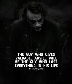 Quotes Deep Dark Indonesia 41 Ideas For 2019 Now Quotes, Dark Quotes, Wisdom Quotes, True Quotes, Motivational Quotes, Inspirational Quotes, Joker Qoutes, Best Joker Quotes, Badass Quotes