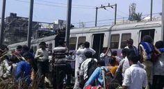 વિલેપાર્લે અને અંધેરીની વચ્ચે આજે સવારે ૧૧ વાગે લોકલ ટ્રેનના ૭ ડબ્બા પાટા પરથી ઉતરી ગાય છે.http://www.vishvagujarat.com/mumbai-local-train-was-derailed-second-time-in-24-hours/