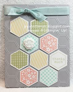 Stampin' with Paula: Stampin' Addicts New Color Blog Hop: Smoky Slate
