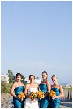 Bright and fresh wedding inspiration, bycherry Photography, via Aphrodite's Wedding Blog
