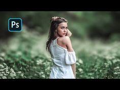 Photoshop Youtube, Photoshop Tutorial, Adobe Photoshop, Photo Action, Outdoor Portraits, Photography Tutorials, Glowing Skin, Couple Photos