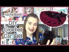DIY Crochet Cat Bed