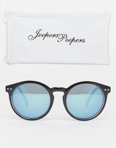Image 2 - Jeepers Peepers - Lunettes de soleil rondes Dessin Lunettes,  Lunettes De Soleil 393dba831cf6