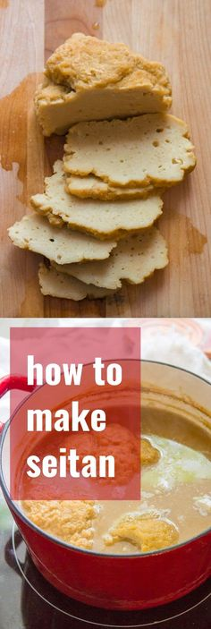 Crafting your very own homemade seitan is super easy, and you don't even need a recipe. This step-by-step tutorial will show you how to make seitan with vital wheat gluten and a few pantry staples! Plus: a recipe for homemade seitan with three flavor variations. #veganfood #veganrecipes #vegan #vegetarian #vegetarianrecipes #seitan #meatlessmonday #gluten #plantbased #protein