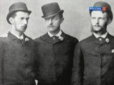 """Grand Dukes of Russia ~ Pavel Alexandrovich,Konstantin Konstantinovich and Sergei Alexandrovich. """"AL"""""""