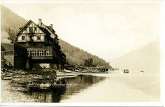 Hotel Sicamous & Shuswap Lake , B.C.   saskhistoryonline.ca Whistler, Photo Postcards, British Columbia, Big Ben, Vancouver, Scenery, Canada, Memories, Island