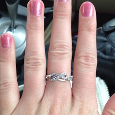 Beautiful infinity ring