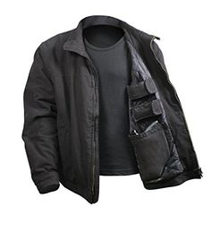 I just used this last weekend  Rothco 3 Season Concealed Carry Jacket follow this link click here http://bridgerguide.com/rothco-3-season-concealed-carry-jacket/ for much more detail about it. Thanks and please repin if you like it. :)