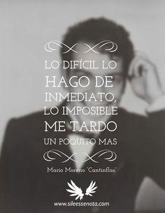 "Mario Moreno""Cantinflas"" ."