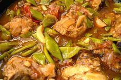 De favoriet van 't Geertje is deze kip kerrie.   Speel naar hartelust met de ingrediënten en maak het helemaal naar je eigen smaak....