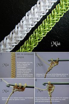 How to Crochet Wave Fan Edging Border Stitch Crochet Cord, Crochet Lace Edging, Crochet Bracelet, Irish Crochet, Crochet Flowers, Crochet Stitches Patterns, Crochet Designs, Crochet Instructions, Irish Lace