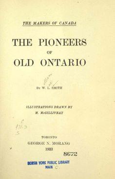 Ontario Upper Canada History and genealogy Genealogy Websites, Genealogy Research, Family Genealogy, History Timeline, History Memes, History Facts, Art History, Family History Quotes, Canadian History